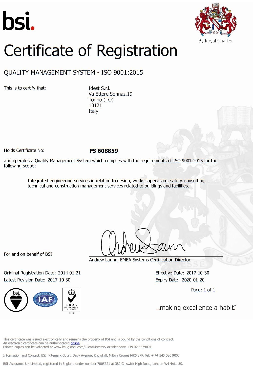 IDEST ISO9000_2015 ENG